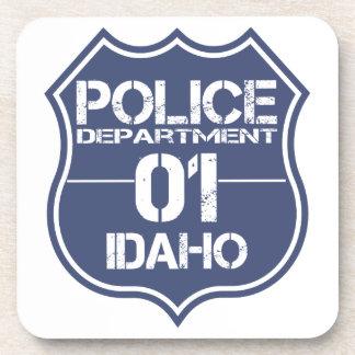 Idaho Police Department Shield 01 Coaster