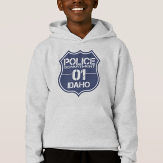 Idaho Police Department Shield 01 Hoodie