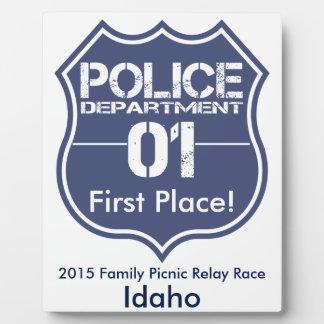 Idaho Police Department Shield 01 Plaque