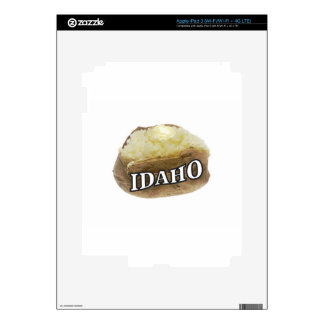Idaho potato label decal for iPad 3