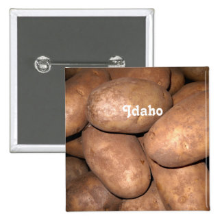 Idaho Potatoes Pin