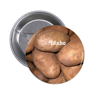 Idaho Potatoes Pinback Button