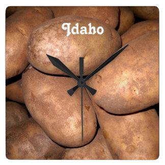 Idaho Potatoes Clocks