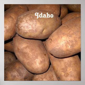 Idaho Potatoes Poster