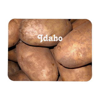 Idaho Potatoes Rectangular Magnets