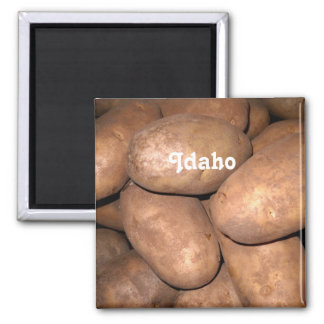 Idaho Potatoes Refrigerator Magnet