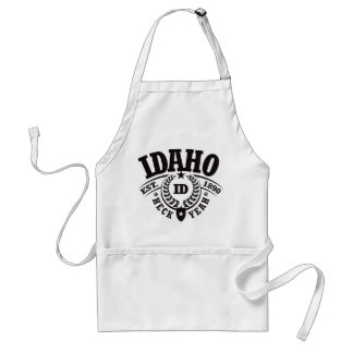 Idaho, puñetas sí, Est. 1890 Delantal