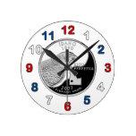 Idaho Quarter Clock