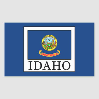 Idaho Rectangular Sticker