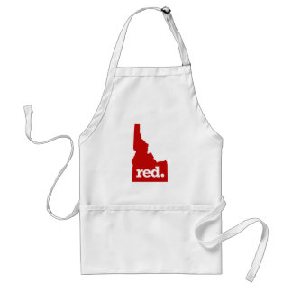 IDAHO RED STATE ADULT APRON