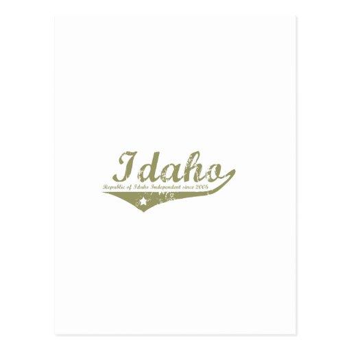 Idaho Revolution T-shirts Postcards