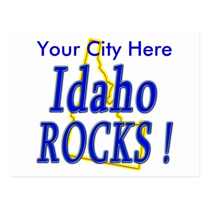 Idaho Rocks ! Postcard