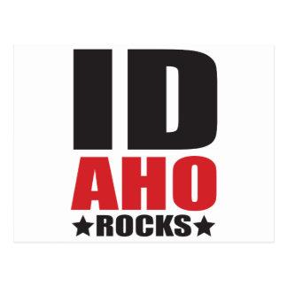 Idaho Rocks! State Spirit Apparel & Gifts Postcard
