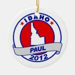 Idaho Ron Paul Ornamento Para Arbol De Navidad