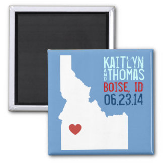 Idaho Save the Date - Customizable City Magnet