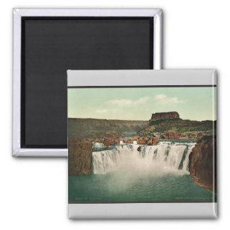 Idaho. Shoshone Falls rare Photochrom Magnet