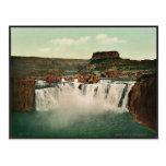Idaho. Shoshone Falls rare Photochrom Postcards