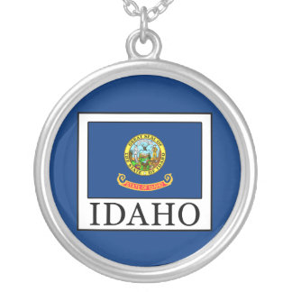 Idaho Silver Plated Necklace