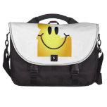 Idaho Smiley Face Laptop Messenger Bag
