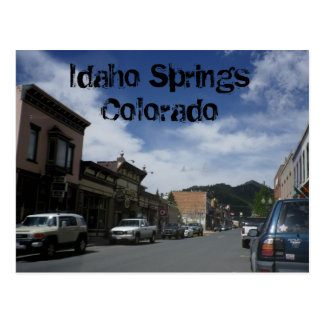 Idaho Springs Colorado Postcard