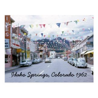 Idaho Springs Colorado Postcard