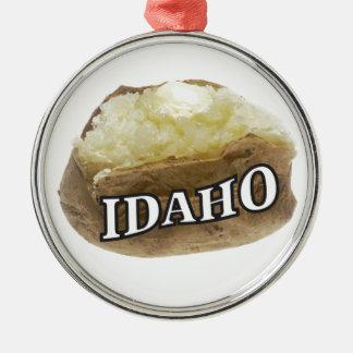 Idaho spud metal ornament