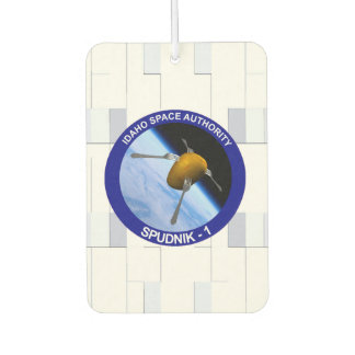 Idaho Spudnik Satellite Mission Patch Car Air Freshener