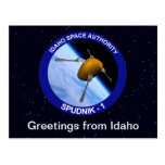 Idaho Spudnik Satellite Mission Patch Post Cards