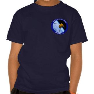 Idaho Spudnik Satellite Mission Patch Tee Shirt