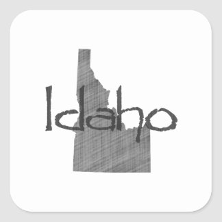 Idaho Square Sticker