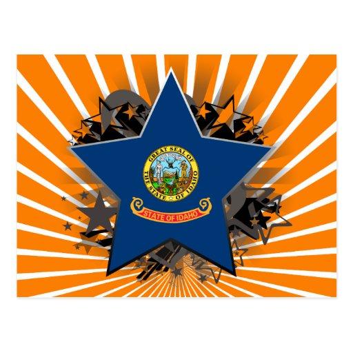 Idaho Star Postcard