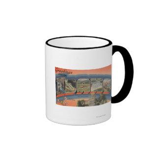 Idaho (State Capital/Flower) - Large Letter Mugs