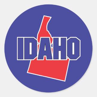 Idaho State Classic Round Sticker