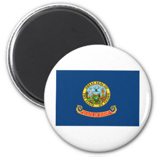 Idaho State Flag 2 Inch Round Magnet