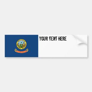 Idaho State Flag Bumper Sticker