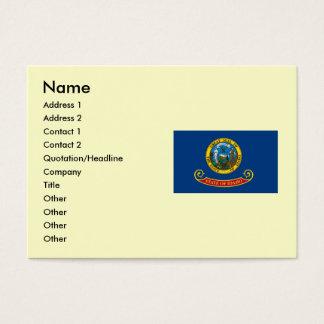 Idaho State Flag Business Card