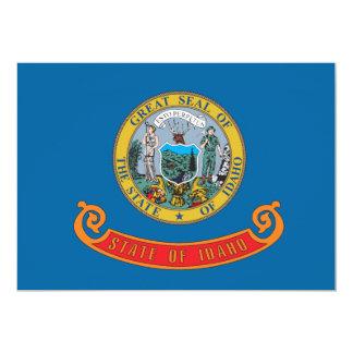 Idaho state flag card
