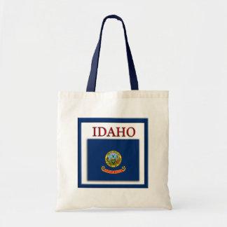 Idaho State Flag Design Budget Canvas Bag