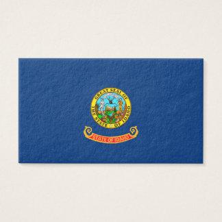Idaho State Flag Design Business Card