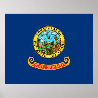 Idaho State Flag Design Decor