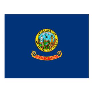 Idaho State Flag Design Postcard