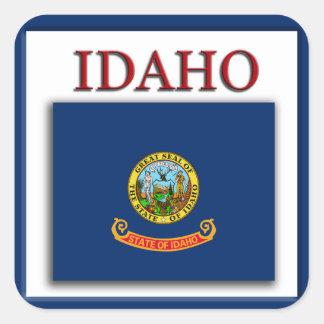 Idaho State Flag Design Sticker