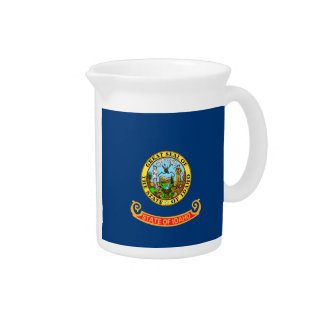 Idaho State Flag Drink Pitchers