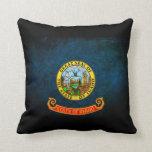 Idaho state flag pillow