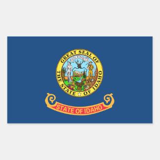 Idaho State Flag Rectangular Sticker