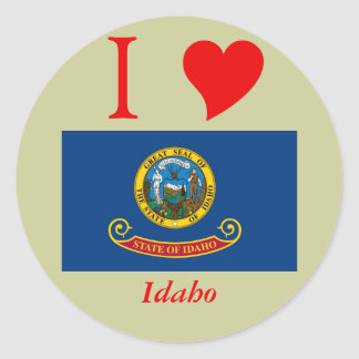 Idaho State Flag Sticker