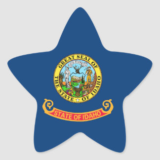 Idaho State Flag Stickers