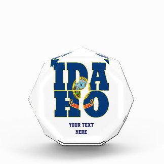 Idaho state flag text award