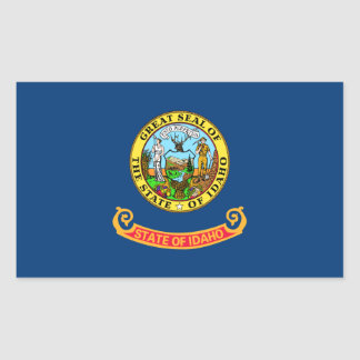 Idaho State Flag, United States Rectangular Sticker