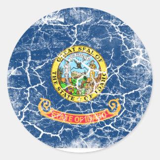 Idaho State Flag Vintage Classic Round Sticker